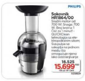 Sokovnik HR1864/00
