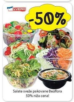 50% popusta na sa Beoflora sveže salate