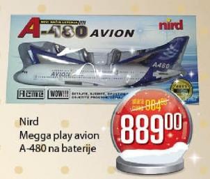 Megga play avion
