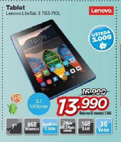 Tablet IdeaTab TB3-710L