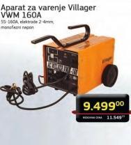 Aparat za varenje VMW 160A
