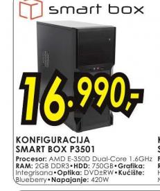 Desktop računar Smart Box konfiguracija P3501