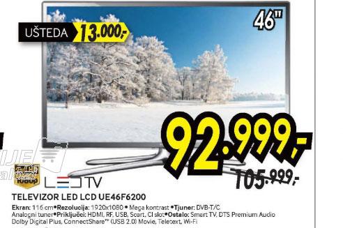 Televizor LED LCD UE-46F6200