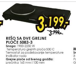 Električni Rešo 5083-3