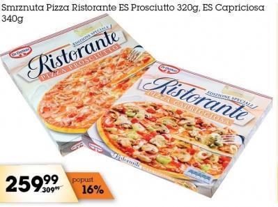 Smrznuta pizza es capricciossa