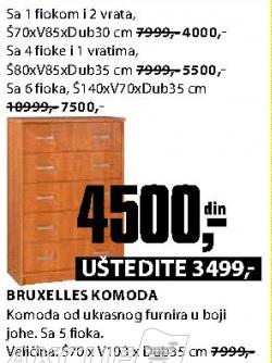 Komoda Bruxelles