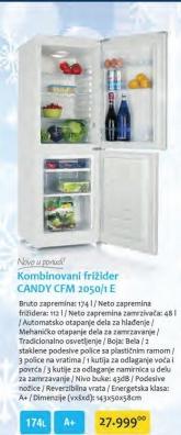 Kombinovani Frižider CFM 2050/1E