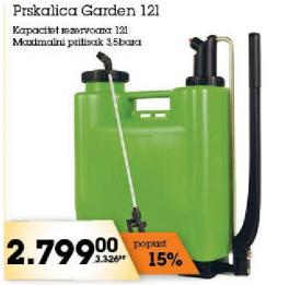 Prskalica garden 12l