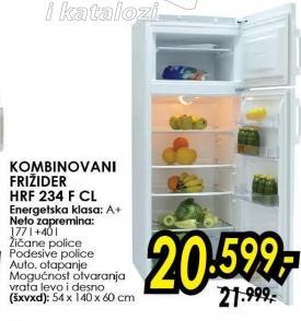 Kombinovani frižider Hrf 234 F Cl