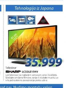 LED Televizor LC32LE154V