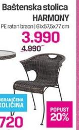 Baštenska stolica Harmony
