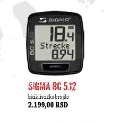 Biciklističko brojilo BC 5.12