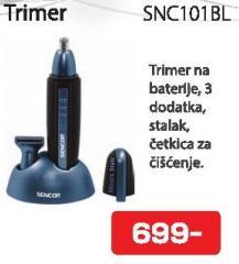 Trimer Snc101bl