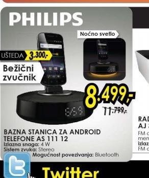 Bazna stanica za Android telefone AS 111/12