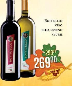 Belo vino Botticello