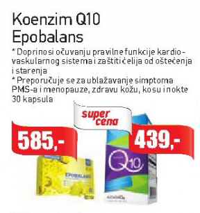 Koenzim Q10 kapsule