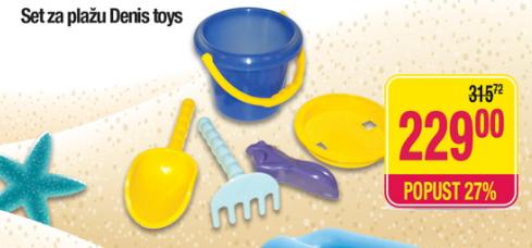 Set za plažu Denis toys
