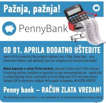 Pažnja,PennyBank