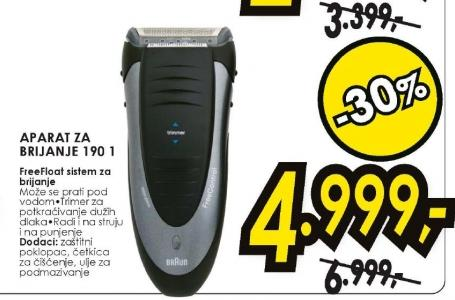 Aparat za brijanje 190 1