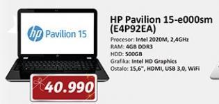 Laptop Pavilion 15 E000SM E4P92EA