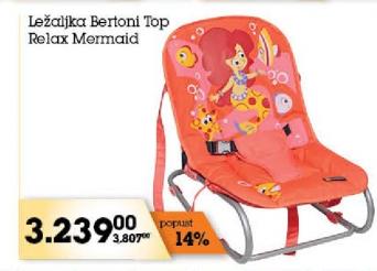 Ležaljka Bertoni Top Relax Mermaid