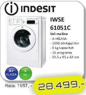 Mašina za veš IWSE 61051C