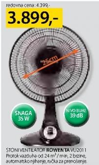 Stoni ventilator VU 2011