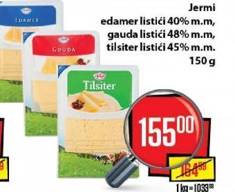 Topljeni sir 45% mm