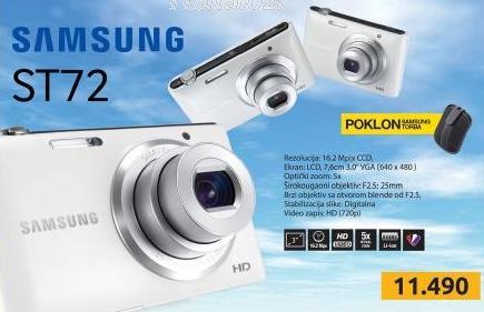 Digitalni foto aparat ST72