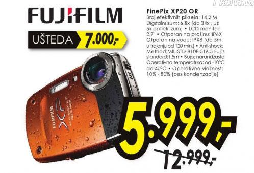 Digitalni fotoaparat FinePix XP20 OR