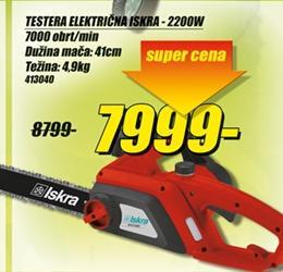 Električna testera 2200W