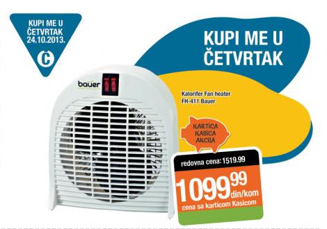 Kalorifer Fan heater FH-411