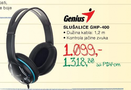 Slušalice  GHP-400