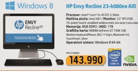 Desktop računar Envy Recline 23-k080ea AIO