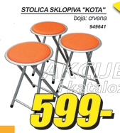 Stolica sklopiva ''KOTA''