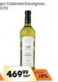 Belo vino Sauvignon blanc