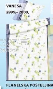Flanelska posteljina Vanesa