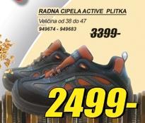 Radna cipela ACTIVE plitka