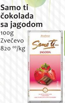 Čokolada jagoda