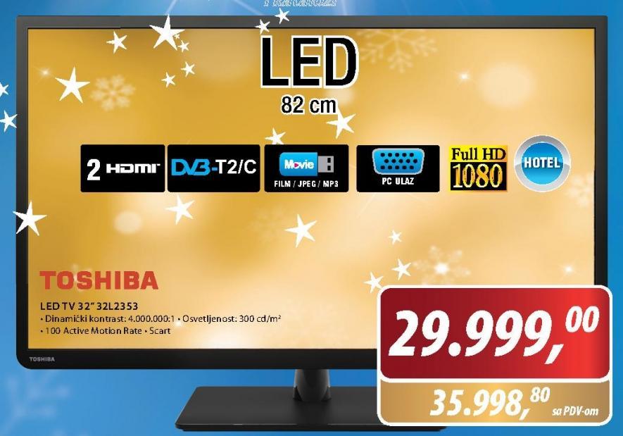 Televizor LED LCD 32L2353