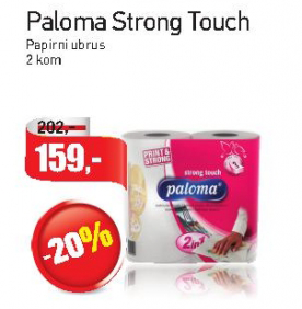 Papirni ubrusi Strong Touch