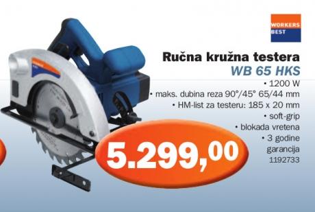 Ručna kružna testera WB 65 HKS