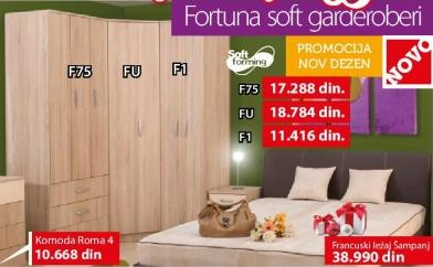 Garderober Fortuna Soft F75