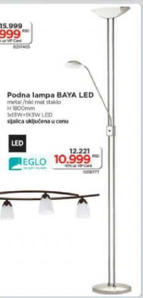 Podna lampa Baya