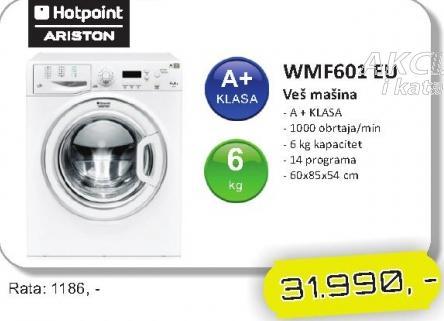 Mašina za veš WMF601 EU