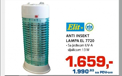 ANTI INSEKT LAMPA EL 7720