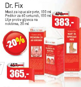 Pedikir za 60 sekundi - Dr. Fix