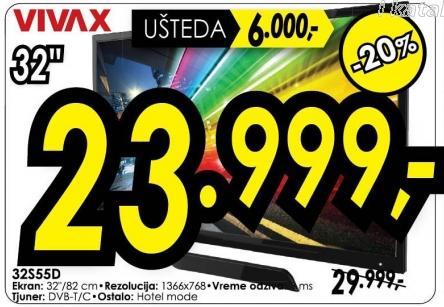 """Televizor LED 32"""" 32s55d"""
