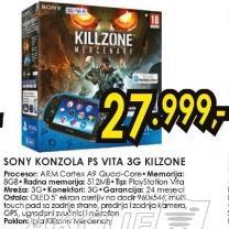 Konzola PS VIta 3G Killzone