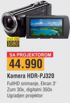 Kamera HDR-PJ320